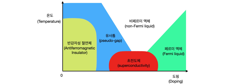 Fig. 4. Cuprate Phase diagram.