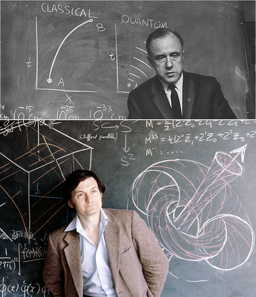 Fig. 3. John A. Wheeler in 1967 (Top, Picture credit: The New York Times) and Roser Penrose in 1980 (Bottom, Picture credit: Anthony Howarth /Science Photo Library)