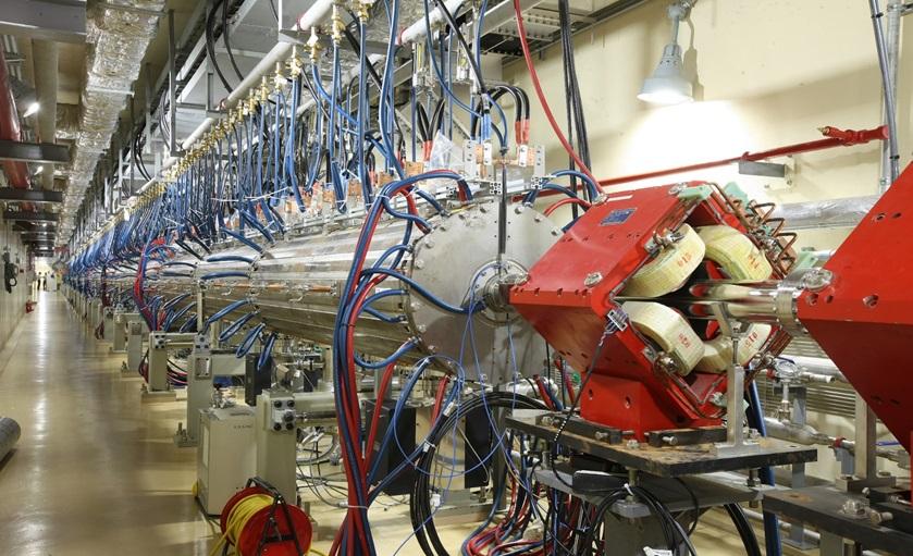 Fig. 3. 100 MeV KOMAC proton accelerator.